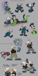 Duck KP AU by Demona-Silverwing
