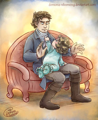 Beethoven and Karl by Demona-Silverwing