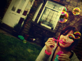 vintage bubbles. by KarenWanny