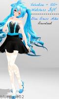 [Download] Valentine + Watchers Gift: Blue Miku DL by bluepixie02
