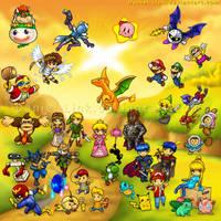 Super Smash Bros Brawl by Daniel-Link