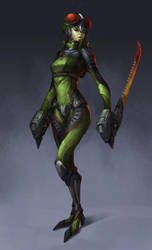 Mantis by Showmeyourmoves