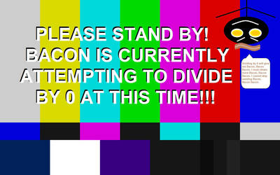 Test Card- Division by 0. by TopazstarAnimations