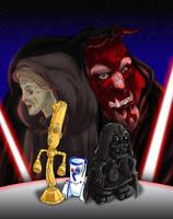 BatB Star Wars cosplay by beastiar-Veter