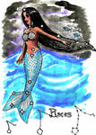 Pisces Mermaid 1 by fairyartemis