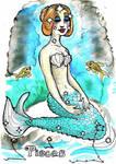 Pisces Mermaid 2 by fairyartemis