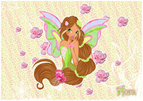 Flora Harmonix from Winx Club by Coloralecante