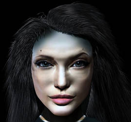 Angelina Jolie smth by Neverwinterdragon