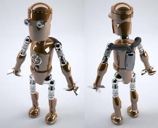 Hydro-bot by Neverwinterdragon