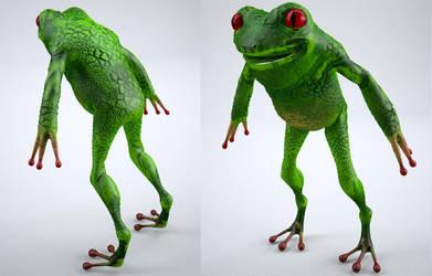 Froggy by Neverwinterdragon