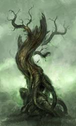 dead tree by michalivan