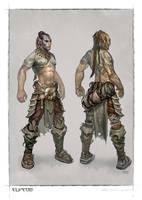 ELVEON hero- basic armour by michalivan