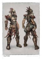 hero-boartusk armour by michalivan