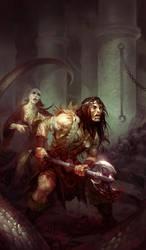 demon sanctuary by michalivan