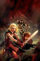 blood fire by michalivan