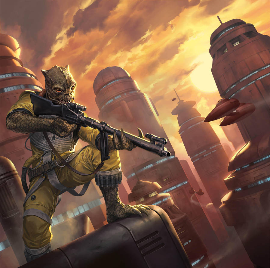Imperial Assault: The Bespin Gambit by michalivan