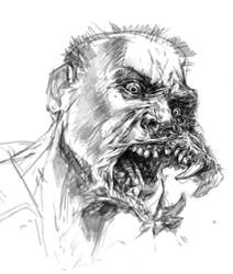 dog face mutant by michalivan