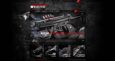 Weapon Store by 3dking
