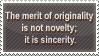 Originality stamp by pixmaina