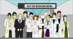 Researchers at SCP-TH Foundation by huntergamma1