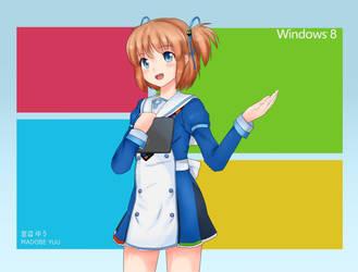 Madobe Yuu | Windows 8 OS-Tan by Ritsan115