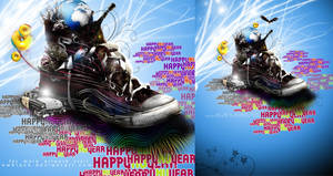 happy new year 2010 by ndrewblack