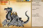 Cityback Dragon v2 (wyrm) by Avengium