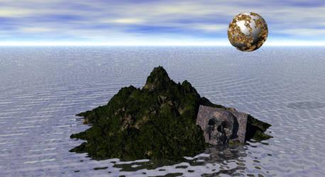 Skull island Bryce DAZ 3D Isla Calavera by Avengium