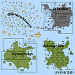 O'Shyhon 2014 2000px Political Map With Names by Avengium