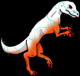 Storm T-Rex adopts hippie30199-adopts d65jkjw by Avengium