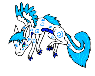 Pygmy Dragon Hatchling #17 by Hippie30199-adopts by Avengium
