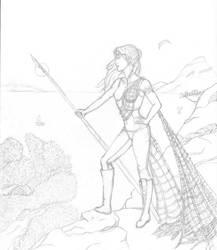 Request : Rhyenna as Britomartis by MiladyDuchess