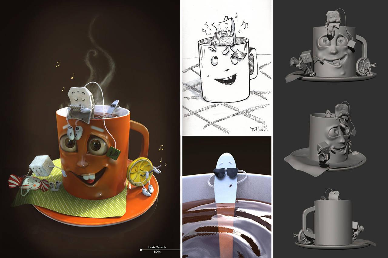 Tea Jazz by lusie