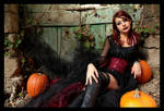 Halloween. Pumpkin's Witch 002 by HisashiSendoh87