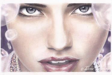 Portrait-Fantasy (Adriana Lima) by LENA-FANTASY