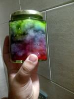 Galaxy in a jar by Tamu-ramone