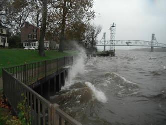 Burlington's Visit From Sandy by LordNegaduck