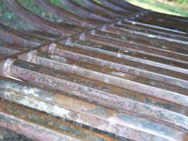 Ironwork Bench by xxtayce