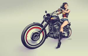 Wonderwoman by Dan-Mora