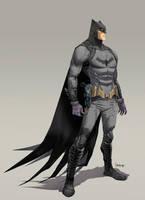 The Bat-man by Dan-Mora