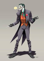 The Joker by Dan-Mora
