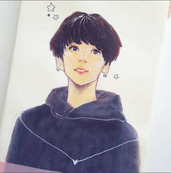 starry kookie by cyucumber