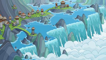 A Waterfall Town- Jake Morrison by JakeMorrison