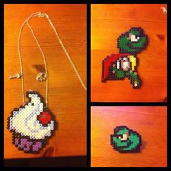 Perler beads Jewelery by L000lz