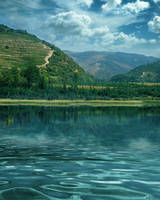 UNRESTRICTED - Lake Scene Premade BG by frozenstocks