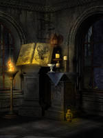 UNRESTRICTED - Wizard's Room Premade by frozenstocks