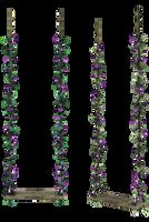 UNRESTRICTED - Purple Flowers Swing by frozenstocks