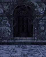 UNRESTRICTED - Dark Vines Wall Background by frozenstocks