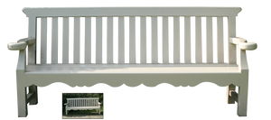 UNRESTRICTED - White Bench PNG by frozenstocks