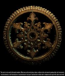 RESTRICTED - Steampunk Cog Render by frozenstocks